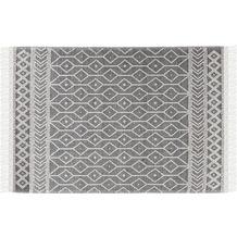 Tom Tailor Handwebteppich Colored Macrame Two grey 65 x 135 cm