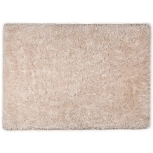 Tom Tailor Teppich Flocatic Uni beige 60cm x 90cm