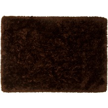Tom Tailor Teppich Flocatic Uni brown 60cm x 90cm