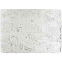 Tom Tailor Teppich Furry UNI silver 40 x 60 cm
