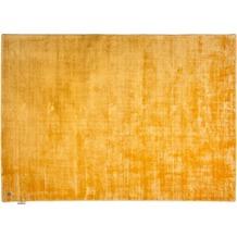 Tom Tailor Viskose-Teppich Shine, uni, 870 gold 140cm x 200cm