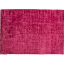 Tom Tailor Viskose-Teppich Shine uni 260 berry 140cm x 200cm