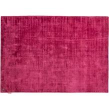 Tom Tailor Viskose-Teppich Shine uni 260 berry 140cm x 200cm