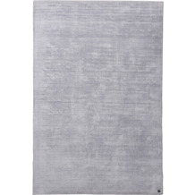 Tom Tailor Teppich Shine UNI silver 250 x 300 cm