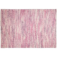 Tom Tailor Handwebteppich Smooth Comfort diamond pink 140 cm x 200 cm