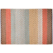 Tom Tailor Handwebteppich Smooth Comfort Pastel Stripe multi 65 cm x 135 cm