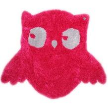 Tom Tailor Teppich Soft, Owl, pink 120cm x 100cm