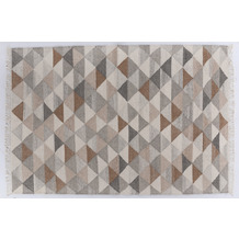Tom Tailor Teppich Vintage Triangle natural 65 x 135 cm