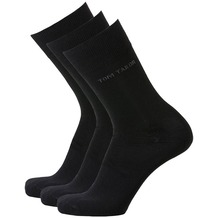 Tom Tailor Socken 3er-Pack schwarz 43-46