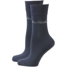 Tom Tailor Damensocken 2er-Pack dunkelblau 35-38