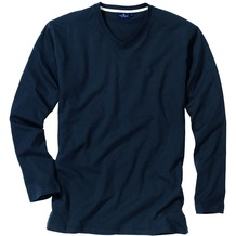 Tom Tailor V-Shirt, 1/1-Arm Navy 48/S