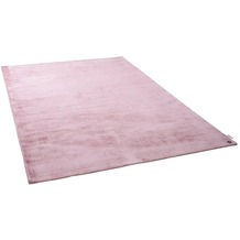Tom Tailor Viskose-Teppich Shine uni 251 rose 140 cm x 200 cm