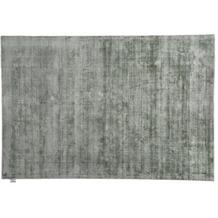 Tom Tailor Viskose-Teppich Shine uni 300 grün 140 cm x 200 cm
