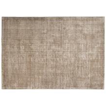 Tom Tailor Viskose-Teppich Shine uni 506 hell braun 140cm x 200cm
