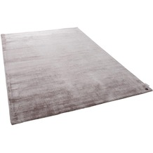 Tom Tailor Viskose-Teppich Shine uni 550 beige 140 cm x 200 cm