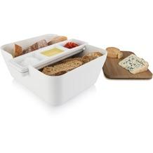 Tomorrow's Kitchen Bread & Dip Brot und Dips Servierschale weiß