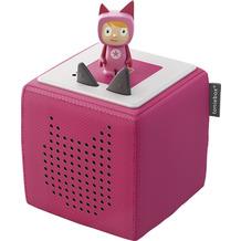 Tonies Starterset (Toniebox + Kreativ-Tonie-Hörfigur), pink