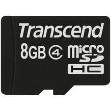 Transcend microSDHC Class 4, 8GB