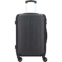 Travel Pal Brisbane 2.0 4-Rollen Trolley 66 cm mit Doppelrollen schwarz