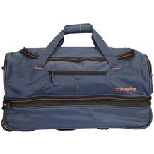 travelite Basics 2- Rollen Reisetasche 70 cm marine orange