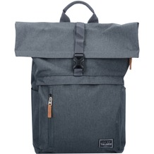 travelite Basics Rollup Rucksack 47 cm Laptopfach anthrazit