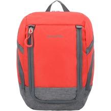 travelite Basics Rucksack 36 cm rot grau