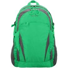 travelite Basics Rucksack 47 cm grün grau