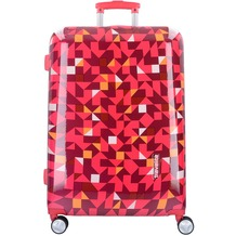 travelite Campus 4-Rollen Trolley 77 cm quadro pink