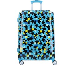 travelite Campus M 4-Rollen Trolley 68 cm quadro blau