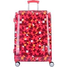 travelite Campus M 4-Rollen Trolley 68 cm quadro pink