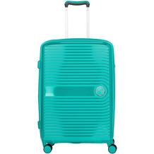 travelite Ceris 4-Rollen Trolley 69 cm grün