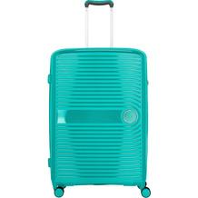 travelite Ceris 4-Rollen Trolley 78 cm grün