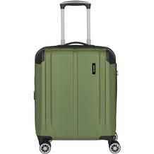 travelite City 4-Rollen Kabinentrolley 55 cm grün