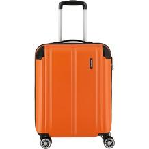 travelite City 4-Rollen Kabinentrolley 55 cm orange