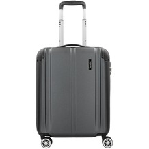 travelite City S 4-Rollen Kabinentrolley 55 cm anthrazit