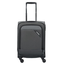 travelite Derby 4-Rollen Kabinentrolley 55 cm anthrazit