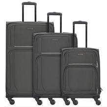 travelite Garda 2.0 4-Rollen Kofferset 3tlg. maus grau