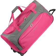 travelite Garda Pop XL Reisetasche groß Rollen mit Trolley-Funktion 72 cm pink