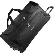 travelite Garda XL Reisetasche groß mit Rollen mit Trolley-Funktion 72 cm schwarz