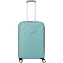 travelite Kalisto 4-Rollen Trolley 67 cm aqua