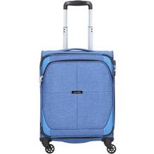 travelite Nida 4-Rollen Kabinentrolley 54 cm blau