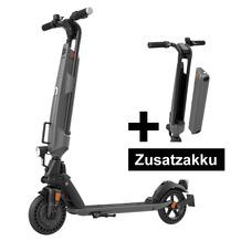 Trekstor E-Scooter EG6078 (StVZO) schwarz/grau + Ersatzakku