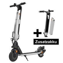 Trekstor E-Scooter EG6078 (StVZO) schwarz/weiß + Ersatzakku