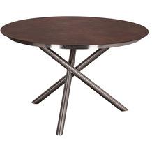TRENDY Willington Tischplatte ø 120 cm ceramic rusty