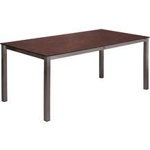 TRENDY Willington Tischplatte 180 x 90 cm ceramic rusty