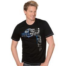 Trigema Herren Shirt schwarz XXL