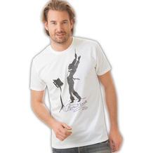 Trigema Herren T-Shirt weiss L