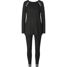Triumph Amourette Spotlight Schlafanzug Trikot LSL black 36