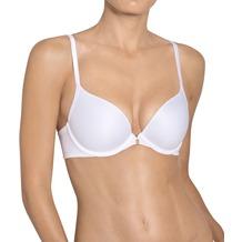 Triumph Body Make-Up Essentials Bügel-BH mit Halbschale und Push-up-Effekt white 70B