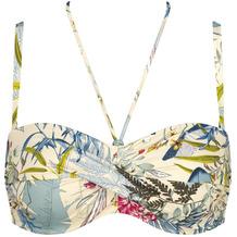 Triumph Botanical Leaf Bikini-Oberteil mit gepolsterten Cups und abnehmbaren Trägern skin - light combination 36B